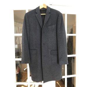 JCrew Ludlow topcoat Slate blue 38s
